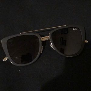 Quay French Kiss Black Sunglasses